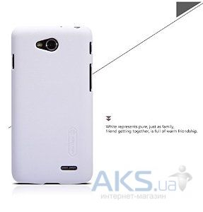 Чехол Celebrity TPU cover case for LG Optimus L90 White