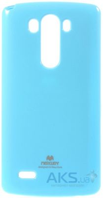 Чехол Mercury Jelly Color Series LG G3 D850, D855, D856 Dual Blue