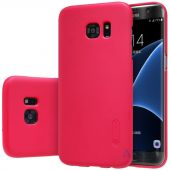 Вид 3 - Чехол Nillkin Super Frosted Shield Samsung G930 Galaxy S7 Red