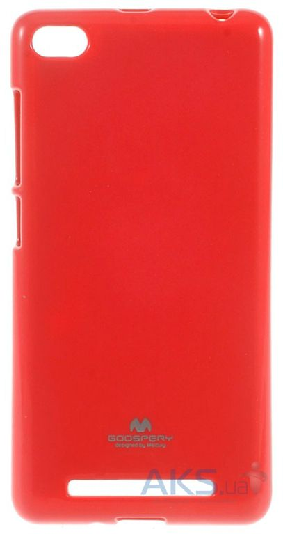 Чехол Mercury Jelly Color Series Xiaomi Redmi 3 Red