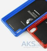 Вид 2 - Чехол Mercury Jelly Color Series Huawei Ascend P7 Blue