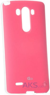 Чехол VOIA Jell Skin for LG Optimus G3 Stylus (D690) Pink