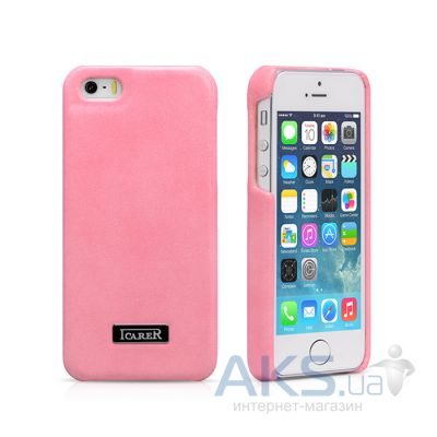 Чехол iCarer Luxury Back Cover Apple iPhone 5, iPhone 5S, iPhone SE Pink