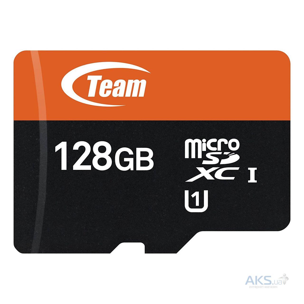 Карта памяти Team 128GB microSDXC class 10 UHS-1 (TUSDX128GUHS03)