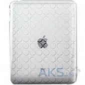 Чехол для планшета Dexim Silicon Case for Apple iPad 2/3/4 White