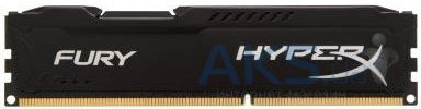Оперативная память Kingston DDR3 8Gb 1600 MHz HyperX Fury Black (HX316C10FB/8)