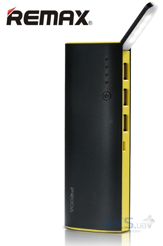 Внешний аккумулятор power bank Remax Star Talk RPP-11 12000mAh Black/Yellow