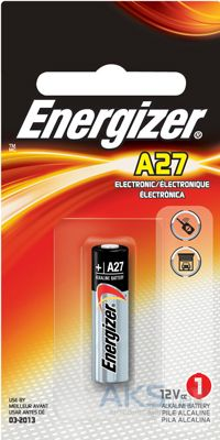 Элемент питания Energizer A27 (MN27) 12V 1шт