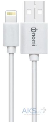 Кабель USB Nomi DC 09i Lightning Cable 0,9m White