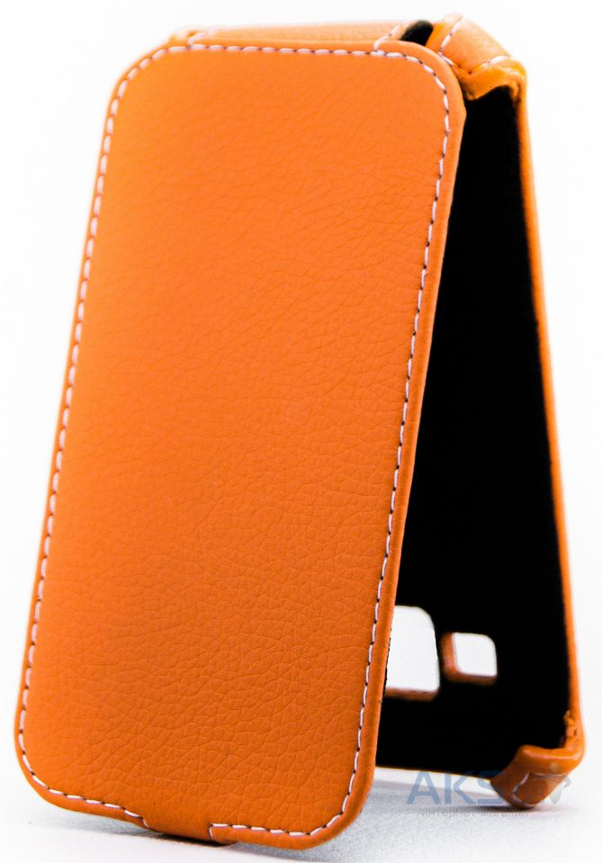 Чехол Status Standart Flip Series Samsung J100 Galaxy J1 Orange