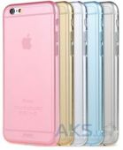 Чехол REMAX Ultra Thin TPU Apple iPhone 4, iPhone 4S Blue
