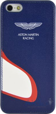 Чехол Aston Martin Racing back case for iPhone 5C with car mouth Blue / White