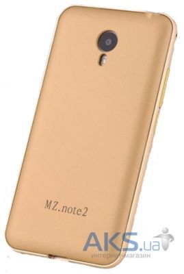 Чехол Anomaly Metal Series Meizu M2 Note Gold