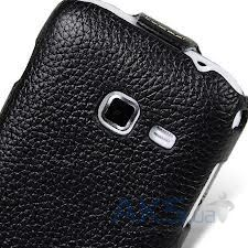 Вид 2 - Чехол Melkco Jacka leather case for Samsung S6802 Galaxy Ace DuoS Black (SS6802LCJT1BKLC)