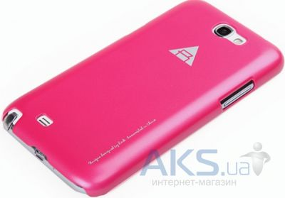 Чехол Rock Naked Shell Series Samsung N7100 Note 2 Rose Red