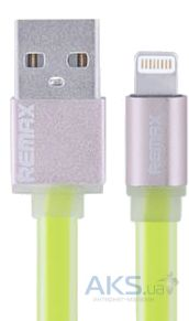 Кабель USB REMAX High Speed Sync&Charge Lightning Data Cable Green
