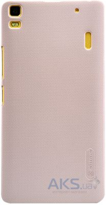 Чехол Nillkin Super Frosted Shield for Lenovo K3 Note / Lenovo A7000 Gold
