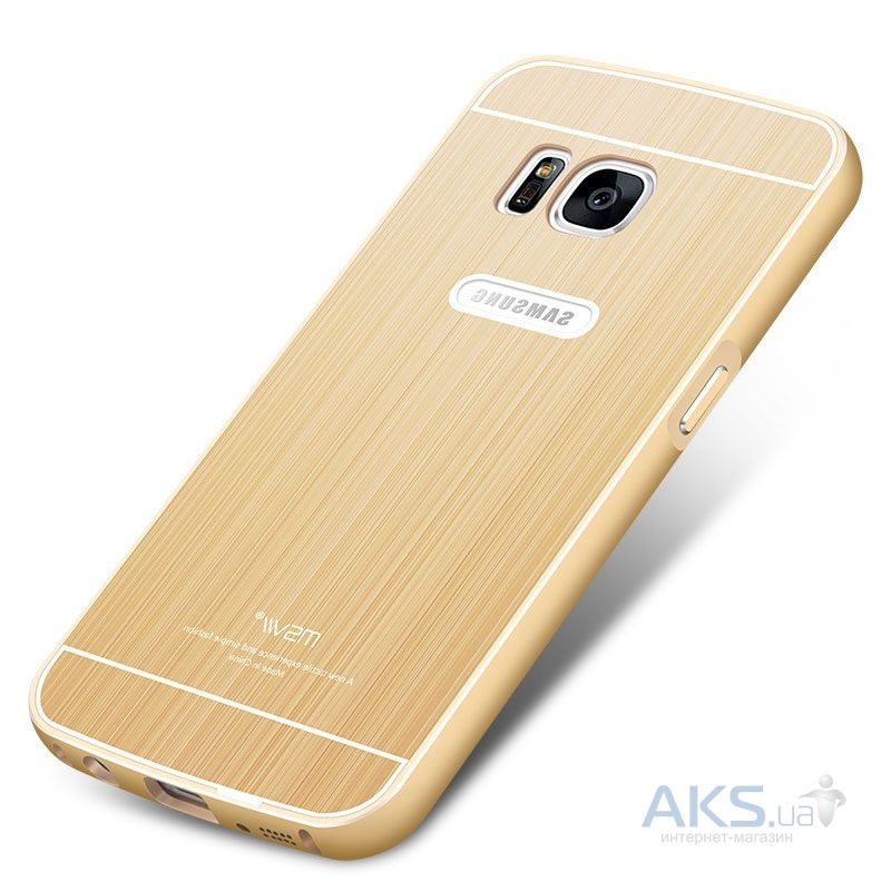 Чехол MSVII Metal Series Samsung G930 Galaxy S7 Gold