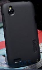 Вид 2 - Чехол Nillkin Super Frosted Shield case for HTC Desire V/Desire X Black