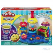 Вид 3 - Игра Hasbro Play-Doh Фабрика пирожных (A0318)