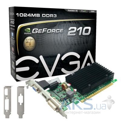 Видеокарта EVGA GeForce 210 1024 МБ 64 бит GDDR3 01G-P3-1313-KR
