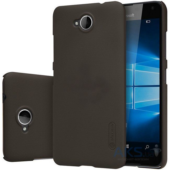 Чехол Nillkin Super Frosted Shield Microsoft Lumia 650 Brown