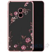 Чехол Original TPU Florish Series Xiaomi Mi Mix Rose Gold