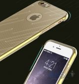 Вид 2 - Чехол Rock Meteor Series Apple iPhone 6, iPhone 6S Gold
