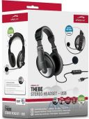 Вид 5 - Гарнитура для компьютера Speed Link THEBE Stereo Headset (SL-8743-SBK-02) Black