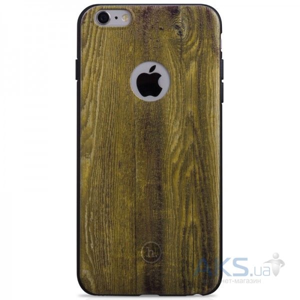 Чехол Hoco Element Series Wood Grain Apple iPhone 6 Plus, iPhone 6S Plus Yellow