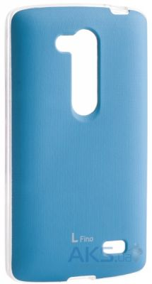 Чехол VOIA Jell Skin for LG Optimus L70+ Dual (D295/Fino) Blue