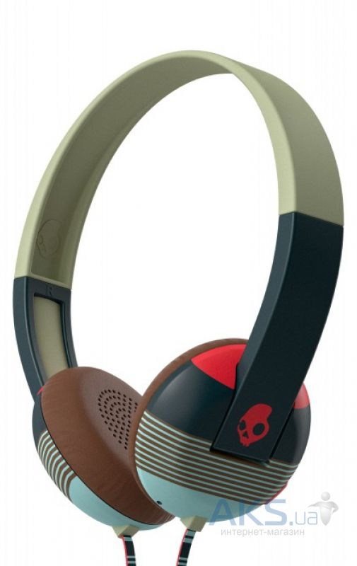 Наушники (гарнитура) Skullcandy UPROAR Stripes/Navy/Red (S5URHT-455)