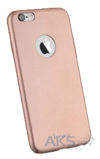 Чехол iPaky Metal Plating Series Apple iPhone 6, iPhone 6S Rose Gold
