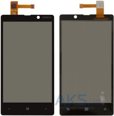 Сенсор (тачскрин) для Nokia Lumia 820 Black