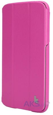 "Чехол для планшета JisonCase Premium Leatherette Smart Case for Samsung Galaxy Tab 3 7"" Rose (JS-S21-03H33)"