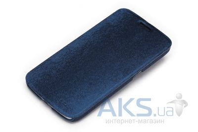 Чехол Rock Big City Series Samsung i9200 Galaxy Mega 6.3 Dark Blue (I9200-30385)