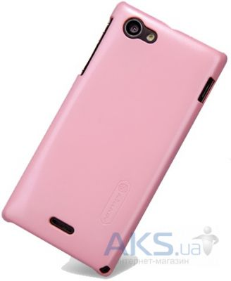Чехол Nillkin Multi Color Series Sony Xperia J ST26i Pink