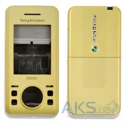 Корпус Sony Ericsson S500i Gold − купити в Києві та Україні 4eaa64b59152b
