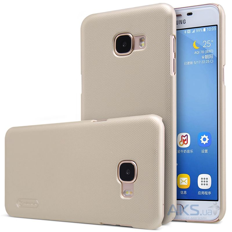 Чехол Nillkin Super Frosted Shield Samsung Galaxy C5 Gold