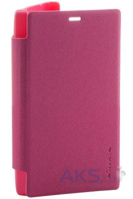 Чехол Nillkin Sparkle Leather Series Nokia X2 Red