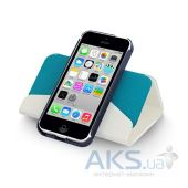 Вид 4 - Чехол Macally Wallet Case Apple iPhone 5С White (WALLETP6-W)