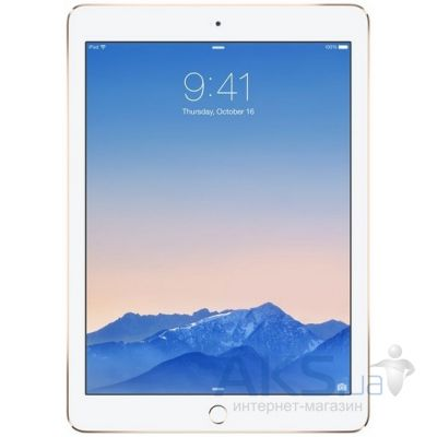 Планшет Apple iPad Air 2 Wi-Fi 16GB MH0W2TU/A Gold