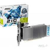 Видеокарта MSI GF GT210 1Gb GDDR3 (N210-TC1GD3H/LP)
