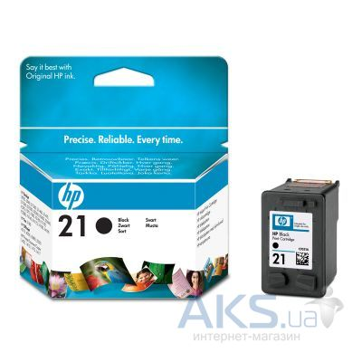 Картридж HP DJ No. 21 (C9351AE) Black
