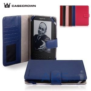 Обложка (чехол) CaseCrown Amazon Kindle 3 Case Blue