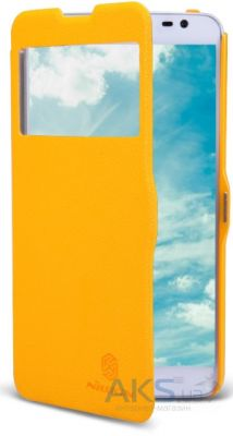 Чехол Nillkin Fresh Leather Series LG Optimus G Pro Lite D684, D686 Yellow