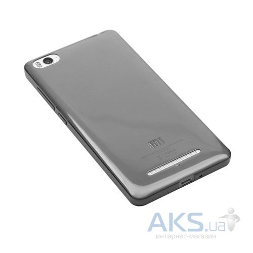 Чехол REMAX Ultra Thin Silicon Case для Xiaomi Mi4i, Mi4c Black