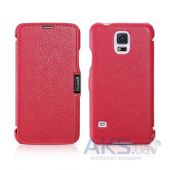 Чехол iCarer Side-open Litchi for Samsung Galaxy S5 Rose