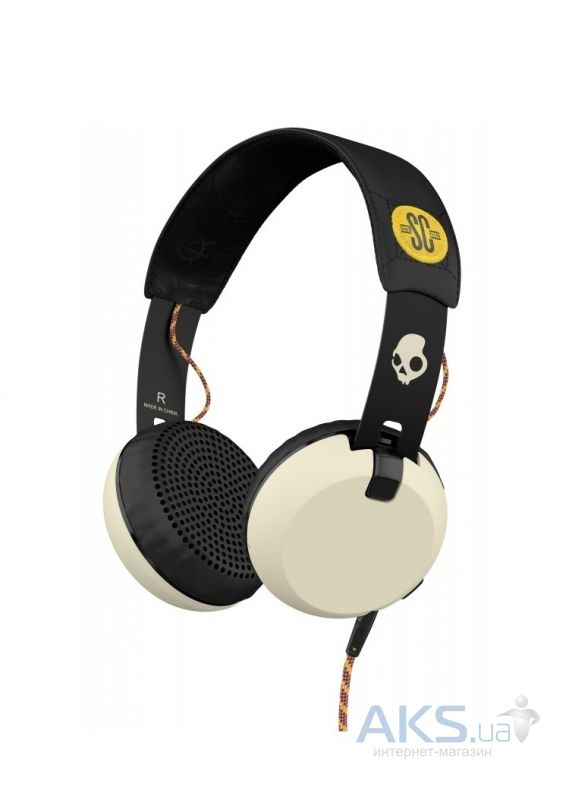 Наушники (гарнитура) Skullcandy Grind Atg/Black/Cream (S2FXGM-412)