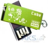 Флешка GooDRam Cube Spring Edition 32GB (PD32GH2GRCUGR9+S) Green